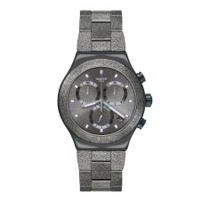 Swatch Holiday Irony Chrono Irony Blackshiny Watch YVM405G