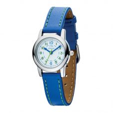 D For Diamond Child's Blue Strap Easy Read Watch Z1023